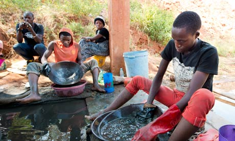 Africa's mines ditch  ...